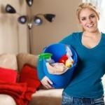 ta tag i städningen av ditt hem