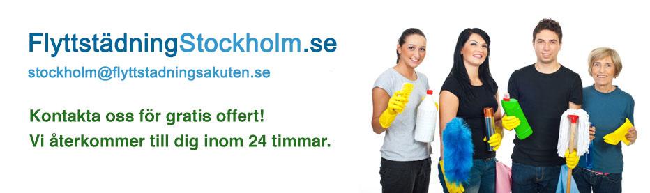 städfirma med flyttstädning i stockholm till billiga priser